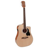 RD-12-CE Richwood acoustic guitar, dreadnought model, active EQ, die cast machine 8719147235948