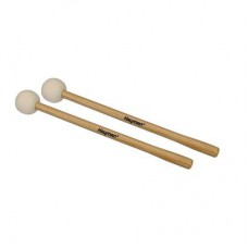 TM-10 Hayman timpani mallets, 366 mm. maple handle, pair, 52 mm. felt core head