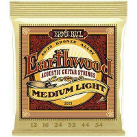 Snaren Ernie Ball Earthwood Medium Light 12-54