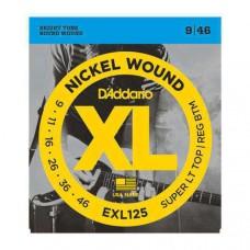 Snaren D'Addario EXL-125 9-46