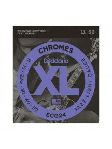 Snaren D'Addario Jazz light ECG24, 11-50