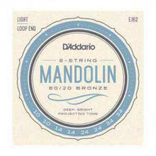 Snaren D'Addario Mandoline 4 string EJ62 80/20, 10-34