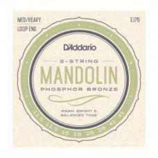 Snaren D'Addario EJ75 mandoline brons 11.5-41