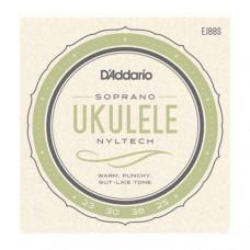 Snare D'Addario Ukelele EJ-88C, Concert