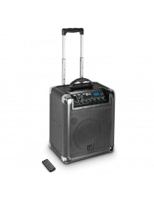 LD Systems Roadjack 10 - Battery Powered Bluetooth Loudspeaker with Mixer