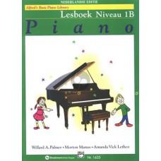 Lesboek Piano Alfreds Basic Piano Library  Lesboek 1B