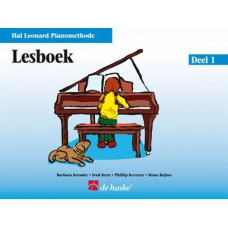 Hal Leonard Pianomethode Lesboek 1