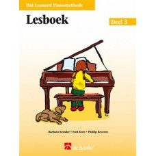 Hal Leonard Pianomethode Lesboek 3