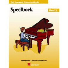 Hal Leonard Pianomethode Speelboek 3
