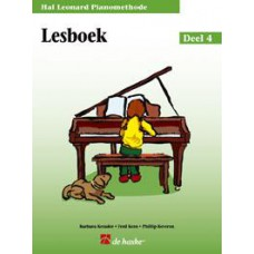 Hal Leonard Pianomethode Lesboek 4