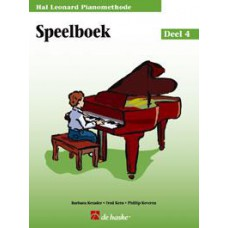 Hal Leonard Pianomethode Speelboek 4