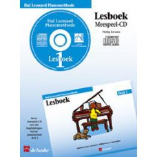 Hal Leonard Pianomethode Lesboek 1 (CD)