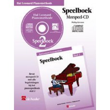 Hal Leonard Pianomethode Speelboek 2 (CD)