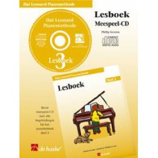 Hal Leonard Pianomethode Lesboek 3 (CD)