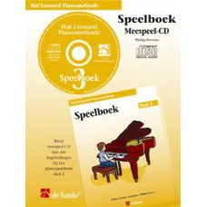 Hal Leonard Pianomethode Speelboek 3 (CD)