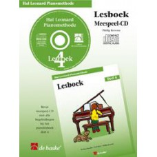 Hal Leonard Pianomethode Lesboek 4 (CD)