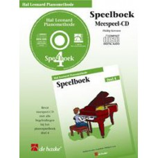 Hal Leonard Pianomethode Speelboek 4 (CD)