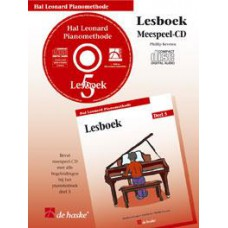 Hal Leonard Pianomethode Lesboek 5 (CD)