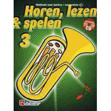 Horen Lezen & Spelen 3 bariton / euphonium TC