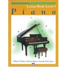 Alfred's Basic Piano Library Lesboek Niveau 3