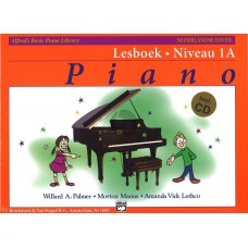 Alfred's Basic Piano Library Lesboek Niveau 1A+CD
