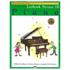 Alfred's Basic Piano Library Lesboek Niveau 1B+CD